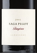 Laurent Miquel Saga Pegot Faugères 2005, Ac Bottle