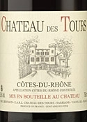 Cotes Du Rhone   Chateau Des Tours 2005 Bottle