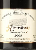 Domaine Des Martinelles Louis & Aimé Hermitage 2005, Ac Bottle