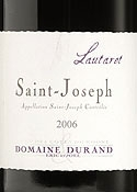 Domaine Durand Lautaret Saint Joseph 2006, Ac Bottle