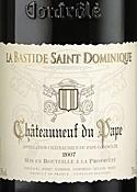 La Bastide Saint Dominique Châteauneuf Du Pâpe 2007, Ac Bottle