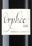 Château De Chambert Orphée 2003, Ac Cahors Bottle