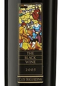Clos Triguedina The Black Wine 2005, Ac Cahors, Estate Btld. Bottle