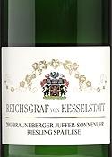 Reichsgraf Von Kesselstatt Riesling Spätlese 2003, Qmp, Brauneberger Juffer Sonnenuhr, Estate Btld. Bottle