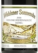 Dr. H. Thanisch Erben Müller Burggraef Riesling Beerenauslese 2006, Qmp, Wehlener Sonnenuhr, Estate Btld. Bottle