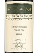 Flam Cabernet Sauvignon Reserve 2005, Estate Btld. Bottle