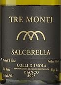 Tre Monti Salcerella Colli D'imola Bianco 2005, Doc Bottle