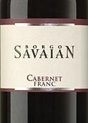Borgo Savaian Cabernet Franc 2006, Doc Isonzo Del Friuli Bottle