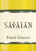 Borgo Savaian Pinot Grigio 2007, Doc Collio Bottle