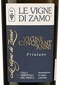 La Vigne Di Zamó Vigne Cinquant'anni Friuliano 2006, Doc Orientali Del Friuli Bottle