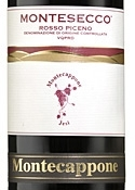 Montecappone Montesecco 2007, Doc Rosso Piceno Bottle
