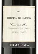 Tormaresca Bocca Di Lupo 2004, Doc Castel Del Monte Bottle