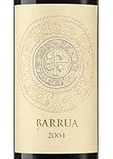 Barrua Isola Dei Nuraghi 2004, Igt Bottle