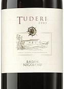 Cantina Dettori Tuderi Rosso 2003, Igt Romangia, Unfiltered Bottle