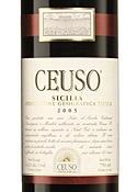 Ceuso 2005, Igt Sicilia Bottle