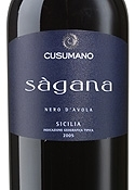 Cusumano Sàgana Nero D'avola 2005, Igt Sicilia Bottle
