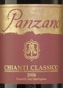 Panzano Chianti Classico 2006, Docg Bottle