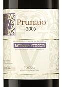 Fattoria Viticcio Prunaio 2005, Igt Toscana Bottle