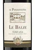 Il Poggiolino Le Balze 1999, Igt Toscana Bottle