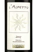 L'aspetto Vino Rosso 2005, Igt Toscana Bottle