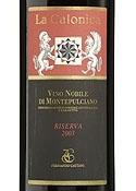 La Calonica Vino Nobile Di Montepulciano Riserva 2003, Docg, Estate Btld. Bottle