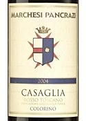 Marchesi Pancrazi Casaglia Colorino 2004, Igt Toscana Bottle