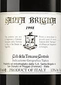 Santa Brigida 1998, Igt Colli Della Toscana Centrale Bottle