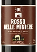 Sorbaiano Delle Miniere Montescudaio Rosso 2004, Doc Bottle