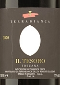 Terrabianca Il Tesoro Merlot 2005, Igt Toscana Bottle