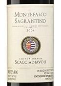 Scacciadiavoli Montefalco Sagrantino 2004, Docg Bottle
