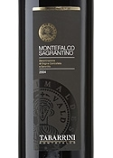 Tabarrini Montefalco Sagrantino 2004, Docg Bottle
