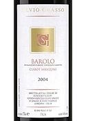 Silvio Grasso Ciabot Manzoni Barolo 2004, Docg Bottle