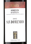 Triacca San Domenico 2003, Docg Sforzato Di Valtellina, Estate Btld. Bottle