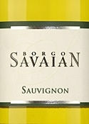 Borgo Savaian Sauvignon Blanc 2007, Doc Collio Bottle