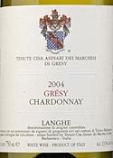 Marchesi Di Grésy Grésy Chardonnay 2004, Doc Langhe Bottle