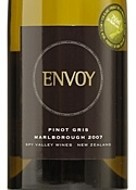 Spy Valley Envoy Pinot Gris 2007, Marlborough, South Island Bottle