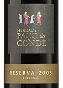 Herdade Paço Do Conde Reserva 2005, Doc Alentejo Bottle