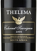 Thelema Cabernet Sauvignon 2006, Wo Stellenbosch Bottle