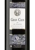Cellers Fuentes Gran Clos De J.M. Fuentes 2001, Doca Priorat Bottle