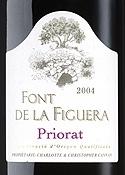 Clos Figueras Font De La Figuera 2004, Doca Priorat Bottle