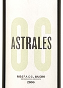 Los Astrales Astrales 2006, Do Ribera Del Duero Bottle