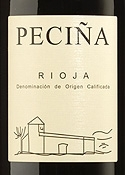 Hermanos Peciña Vendimia Seleccionada Reserva 2001, Doca Rioja Bottle