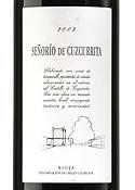 Señorio De Cuzcurrita 2003, Doca Rioja Bottle