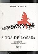 Altos De Losada Mencia 2006, Losada Vinos De Finca Bottle