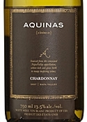 Aquinas Chardonnay 2007, Napa Valley Bottle