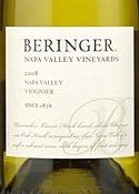 Beringer Viognier 2008, Napa Valley Bottle