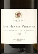 Hartford Court Four Hearts Chardonnay 2005, Russian River Valley, Sonoma County Bottle