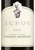 Schug Cabernet Sauvignon 2006, Sonoma Valley Bottle