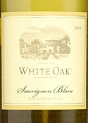 White Oak Sauvignon Blanc 2007, Russian River Valley Bottle