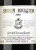 Santa Brigida 2001, Igt Colli Della Toscana Centrale Bottle